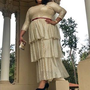 New Woman's handmade dress